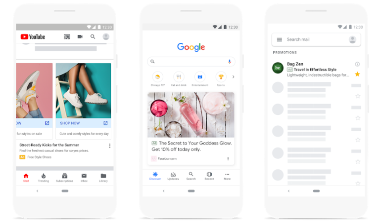 Annonce Google Discovery Ads